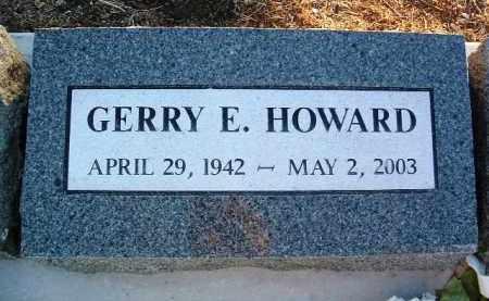 HOWARD, GERRY ERNEST - Yavapai County, Arizona   GERRY ERNEST HOWARD - Arizona Gravestone Photos