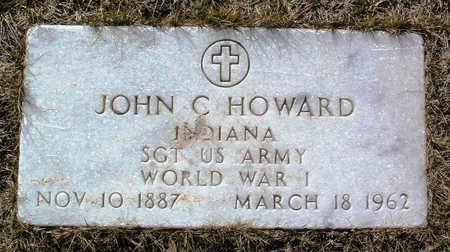HOWARD, JOHN C. - Yavapai County, Arizona | JOHN C. HOWARD - Arizona Gravestone Photos