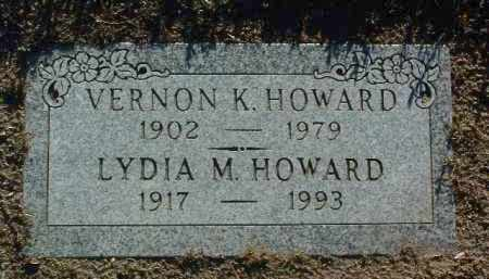 HOWARD, LYDIA M. - Yavapai County, Arizona | LYDIA M. HOWARD - Arizona Gravestone Photos