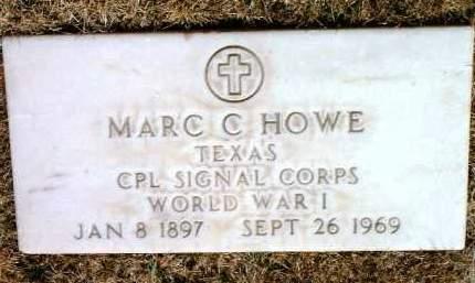 HOWE, MARC CLIFFORD - Yavapai County, Arizona   MARC CLIFFORD HOWE - Arizona Gravestone Photos