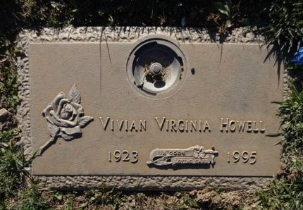 HOWELL, VIVIAN VIRGINIA - Yavapai County, Arizona | VIVIAN VIRGINIA HOWELL - Arizona Gravestone Photos