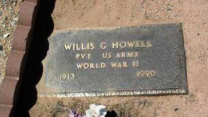HOWELL, WILLIS G. - Yavapai County, Arizona   WILLIS G. HOWELL - Arizona Gravestone Photos