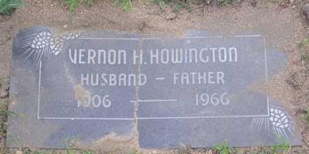 HOWINGTON, VERNON HEROD - Yavapai County, Arizona | VERNON HEROD HOWINGTON - Arizona Gravestone Photos