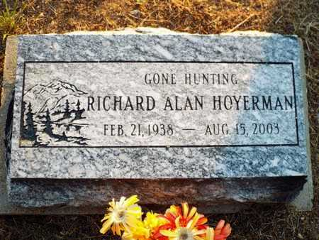 HOYERMAN, RICHARD ALLEN - Yavapai County, Arizona | RICHARD ALLEN HOYERMAN - Arizona Gravestone Photos