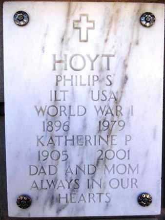 HOYT, PHILIP SPEAR - Yavapai County, Arizona   PHILIP SPEAR HOYT - Arizona Gravestone Photos
