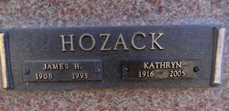 HOZACK, JAMES H. - Yavapai County, Arizona | JAMES H. HOZACK - Arizona Gravestone Photos