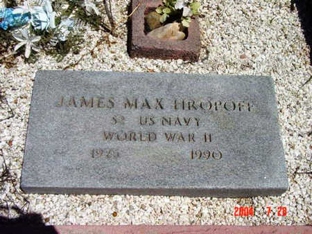 HROPOFF, JAMES MAXIM, SR. - Yavapai County, Arizona | JAMES MAXIM, SR. HROPOFF - Arizona Gravestone Photos