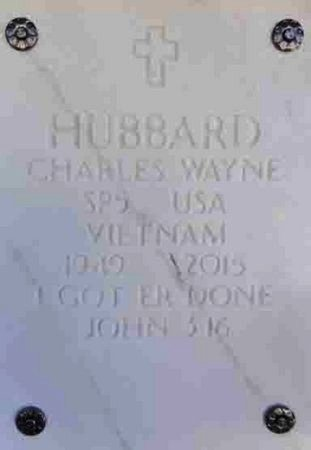 HUBBARD, CHARLES WAYNE - Yavapai County, Arizona | CHARLES WAYNE HUBBARD - Arizona Gravestone Photos
