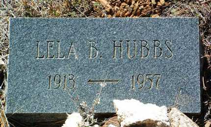 HUBBS, LELA B. - Yavapai County, Arizona | LELA B. HUBBS - Arizona Gravestone Photos