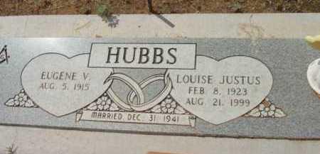 JUSTUS HUBBS, LOUISE K. - Yavapai County, Arizona   LOUISE K. JUSTUS HUBBS - Arizona Gravestone Photos