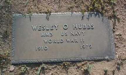 HUBBS, WESLEY OVAL - Yavapai County, Arizona | WESLEY OVAL HUBBS - Arizona Gravestone Photos
