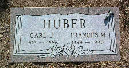 HUBER, FRANCES M. - Yavapai County, Arizona | FRANCES M. HUBER - Arizona Gravestone Photos