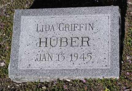 HUBER, LIDA P. - Yavapai County, Arizona | LIDA P. HUBER - Arizona Gravestone Photos