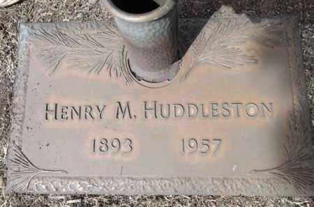 HUDDLESTON, HENRY M. - Yavapai County, Arizona | HENRY M. HUDDLESTON - Arizona Gravestone Photos