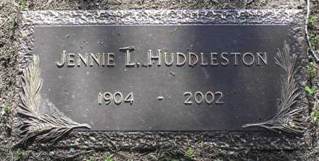 HUDDLESTON, JENNIE L. - Yavapai County, Arizona | JENNIE L. HUDDLESTON - Arizona Gravestone Photos