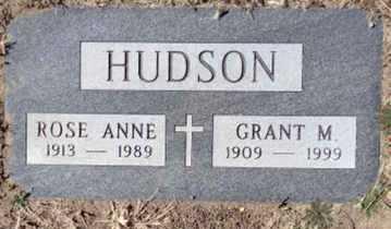 SHERMAN HUDSON, ROSE A. - Yavapai County, Arizona   ROSE A. SHERMAN HUDSON - Arizona Gravestone Photos