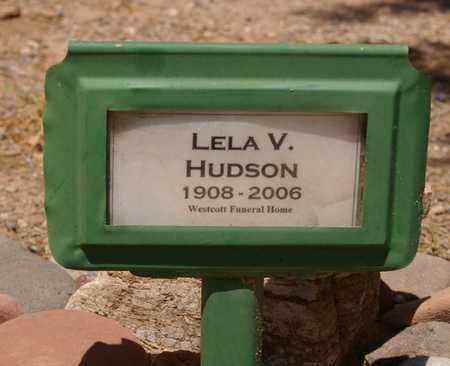 CHAFFIN HUDSON, LELA V. - Yavapai County, Arizona | LELA V. CHAFFIN HUDSON - Arizona Gravestone Photos