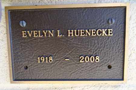 HUENECKE, EVELYN LE VON - Yavapai County, Arizona | EVELYN LE VON HUENECKE - Arizona Gravestone Photos