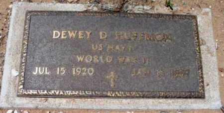HUFFMON, DEWEY DOW (DUDE) - Yavapai County, Arizona | DEWEY DOW (DUDE) HUFFMON - Arizona Gravestone Photos
