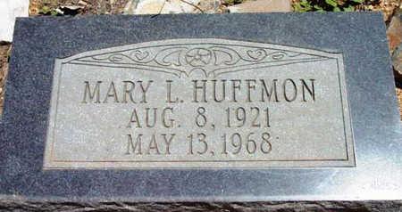 FINCH HUFFMON, MARY L. - Yavapai County, Arizona | MARY L. FINCH HUFFMON - Arizona Gravestone Photos