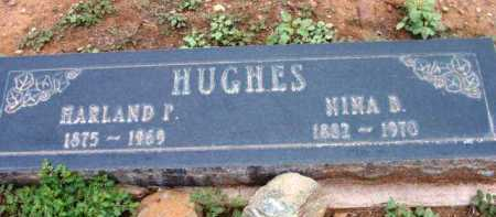 HUGHES, NINA B. - Yavapai County, Arizona | NINA B. HUGHES - Arizona Gravestone Photos