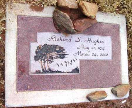 HUGHES, RICHARD S. - Yavapai County, Arizona   RICHARD S. HUGHES - Arizona Gravestone Photos
