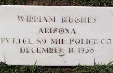HUGHES, WILLIAM MITCHELL - Yavapai County, Arizona | WILLIAM MITCHELL HUGHES - Arizona Gravestone Photos