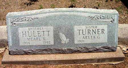 TURNER, ARETA GRACE - Yavapai County, Arizona | ARETA GRACE TURNER - Arizona Gravestone Photos