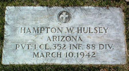HULSEY, HAMPTON  W. - Yavapai County, Arizona | HAMPTON  W. HULSEY - Arizona Gravestone Photos