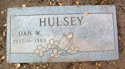 HULSEY, WENFORD DAN - Yavapai County, Arizona | WENFORD DAN HULSEY - Arizona Gravestone Photos