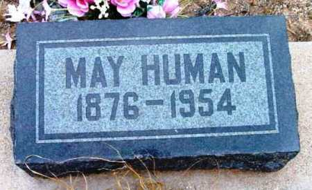 HUMAN, LILLY MAY - Yavapai County, Arizona | LILLY MAY HUMAN - Arizona Gravestone Photos