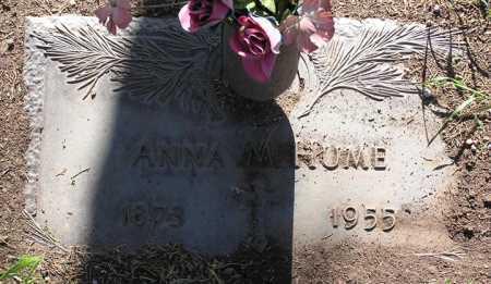 HUME, ANNA MARGARET - Yavapai County, Arizona   ANNA MARGARET HUME - Arizona Gravestone Photos