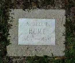 HUME, AUDREY ELEANOR - Yavapai County, Arizona | AUDREY ELEANOR HUME - Arizona Gravestone Photos