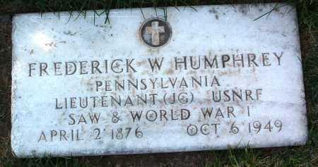 HUMPHREY, FREDERICK W. - Yavapai County, Arizona | FREDERICK W. HUMPHREY - Arizona Gravestone Photos