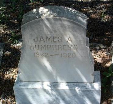 HUMPHREYS, JAMES ABRAHAM - Yavapai County, Arizona | JAMES ABRAHAM HUMPHREYS - Arizona Gravestone Photos