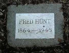 HUNT, FRED - Yavapai County, Arizona   FRED HUNT - Arizona Gravestone Photos