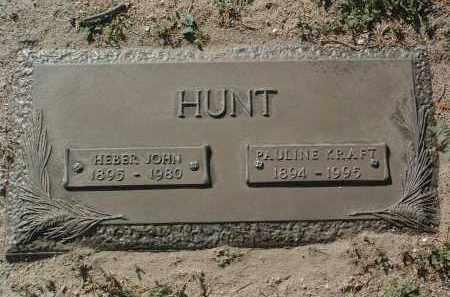 KRAFT HUNT, PAULINE - Yavapai County, Arizona | PAULINE KRAFT HUNT - Arizona Gravestone Photos