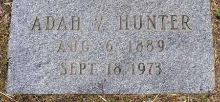 HUNTER, ADAH V. - Yavapai County, Arizona | ADAH V. HUNTER - Arizona Gravestone Photos