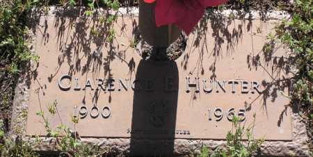 HUNTER, CLARENCE ELMER - Yavapai County, Arizona   CLARENCE ELMER HUNTER - Arizona Gravestone Photos