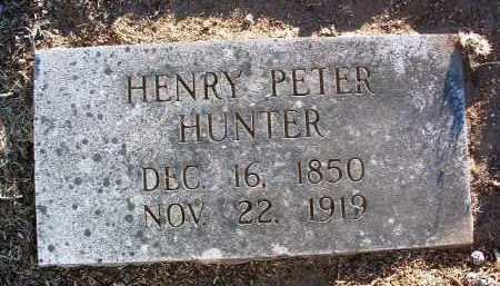 HUNTER, HENRY PETER, SR. - Yavapai County, Arizona | HENRY PETER, SR. HUNTER - Arizona Gravestone Photos