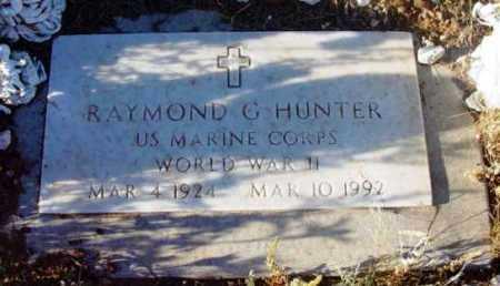 HUNTER, RAYMOND G. - Yavapai County, Arizona | RAYMOND G. HUNTER - Arizona Gravestone Photos