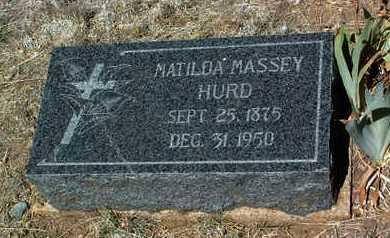 HURD, MATILDA - Yavapai County, Arizona   MATILDA HURD - Arizona Gravestone Photos