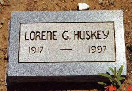 HUSKEY, LORENE G. - Yavapai County, Arizona | LORENE G. HUSKEY - Arizona Gravestone Photos