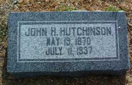 HUTCHINSON, JOHN HENRY - Yavapai County, Arizona | JOHN HENRY HUTCHINSON - Arizona Gravestone Photos