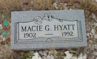 HYATT, MACIE G. - Yavapai County, Arizona | MACIE G. HYATT - Arizona Gravestone Photos