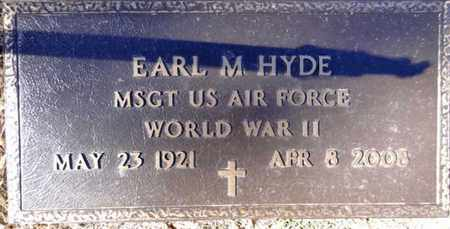 HYDE, EARL MARTIN - Yavapai County, Arizona   EARL MARTIN HYDE - Arizona Gravestone Photos