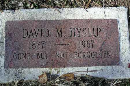 HYSLIP, DAVID MARSHALL - Yavapai County, Arizona | DAVID MARSHALL HYSLIP - Arizona Gravestone Photos