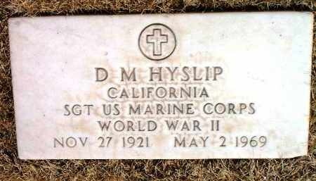 HYSLIP, DAVID MARSHALL (D. M.) - Yavapai County, Arizona   DAVID MARSHALL (D. M.) HYSLIP - Arizona Gravestone Photos