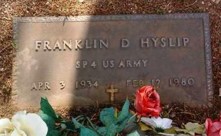 HYSLIP, FRANKLIN DAVID - Yavapai County, Arizona | FRANKLIN DAVID HYSLIP - Arizona Gravestone Photos