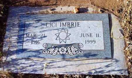 IMBRIE, CICI - Yavapai County, Arizona   CICI IMBRIE - Arizona Gravestone Photos